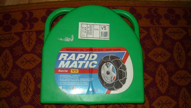 Łańcuchy śniegowe na koła 14 15 16 łańcuch RAPID MATIC V5