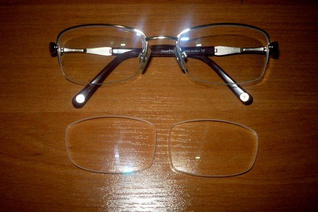 szkła do okularów cesare paciotti nowe nieużywane