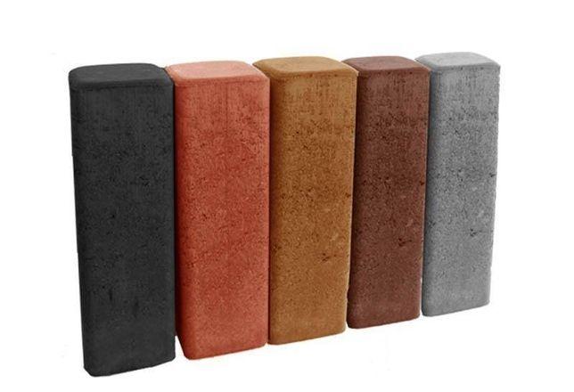K0 Palisady betonowe nostalit ogrodowe w każdym kolorze