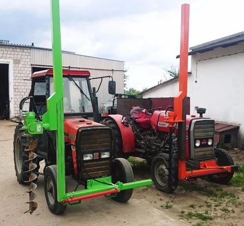 Świder sadowniczy hydrauliczny wiertnica sadowniczy kotwy