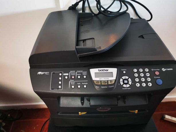 Multifunções 4 em 1 Brother a Laser MFC-7820N