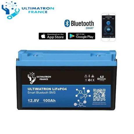 Akumulator LiFePO4 100Ah z monitoringiem Bluetooth