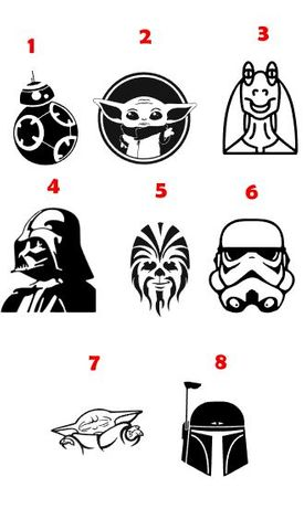 autocolantes Star Wars