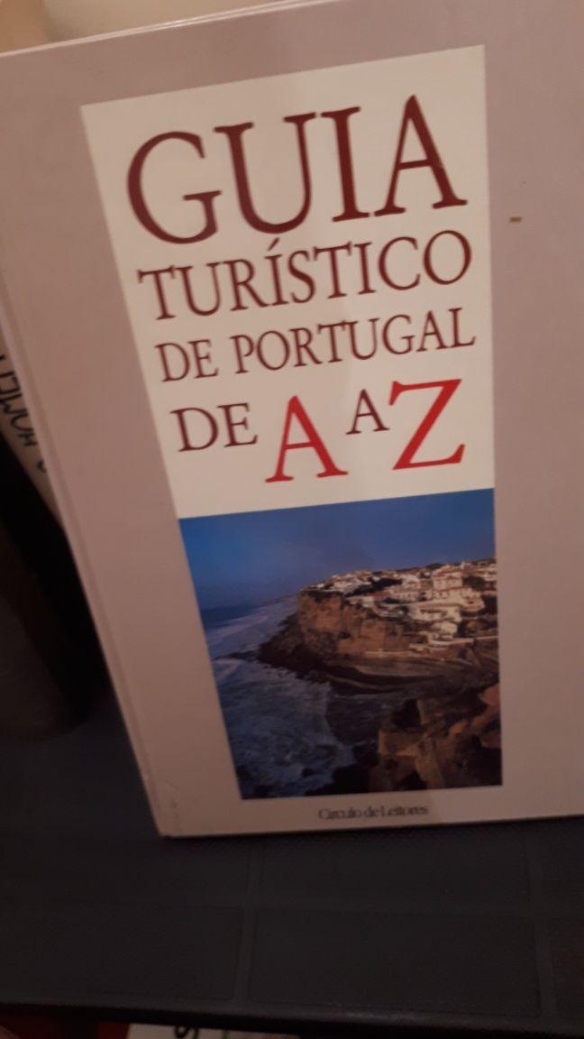 """Guia Turístico de Portugal de A a Z""-Circulo de Leitores-Vintage-1980"