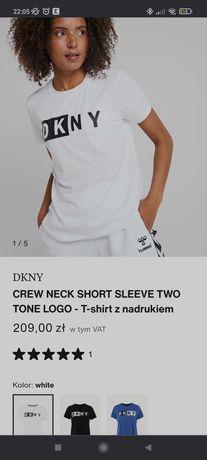 Koszulka sportowa DKNY rozmiar M biała