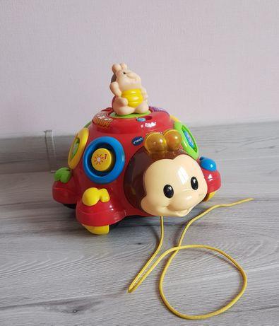 Музыкальный жук vtech, игрушка каталка как fisher price