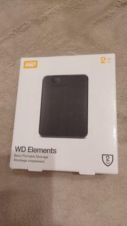 Dysk zewnętrzny WD Elements Partable 1TB