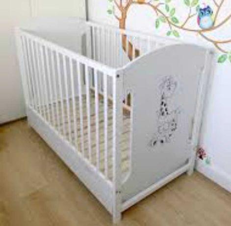 Łóżeczko dzieciece 120x60