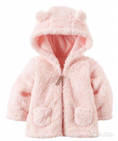 Плюшевая куртка кофта carters carter's
