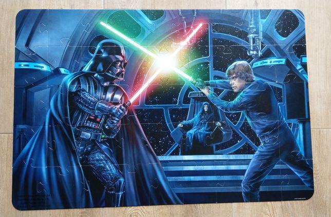 Puzzle Star Wars 45 dużych elementów, fluorestencyjne miecze