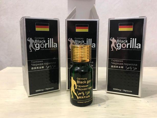 HOT Мужской возбудитель для потенции Black Gorilla, потенция
