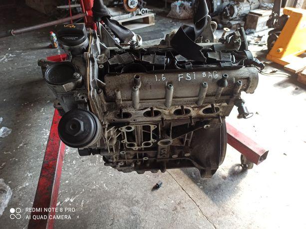 Двигатель мотор Фольксваген Туран FSI 1.6