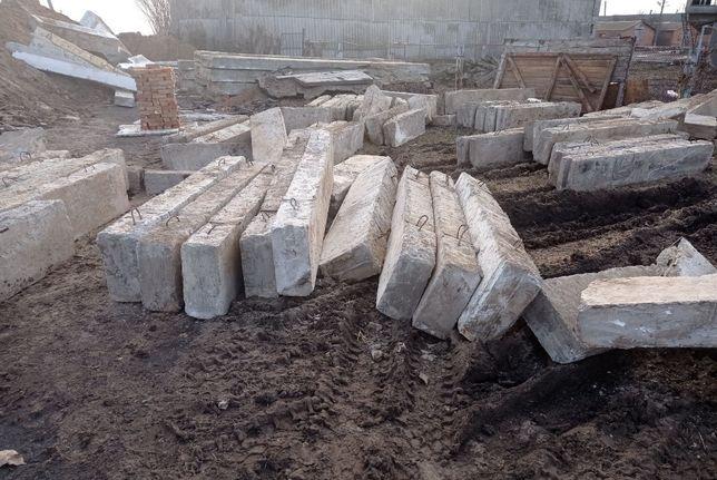 Блоки фундаментные 20 б/у