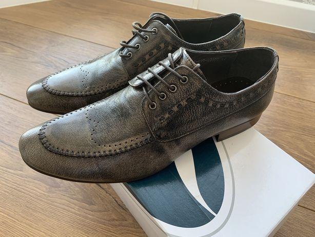 Продам чоловічі шкіряні туфлі Dino Ricci, нові.