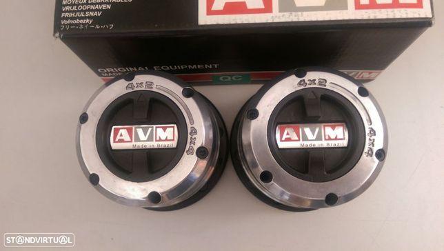 Cubos de roda manuais AVM 452 para Nissan Terrano II, Navara D21,  Ford Maverick