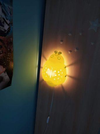 Lampka dziecięca biedronka Ikea