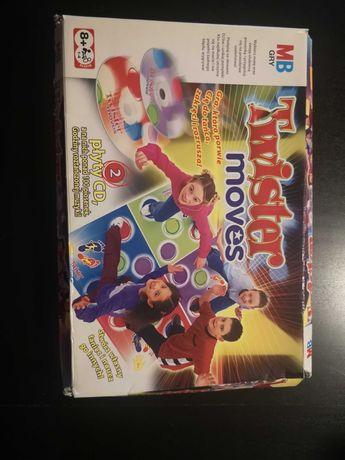 Gra dla dzieci twister moves z płytami CD MB