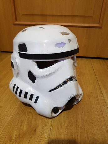 hełm star wars szturmowiec, stormtrooper helmet, cosplay, asg