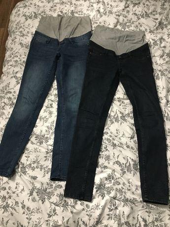 Spodnie ciążowe 2 pary rozmiar M jak nowe