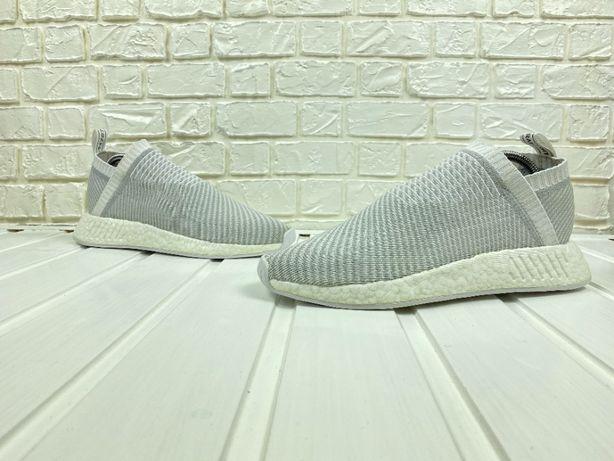 Кроссовки adidas nmd cs2 primeknit original белые 43