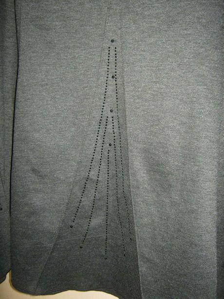 Шикарная дизайнерская юбка НОВАЯ батал большой размер