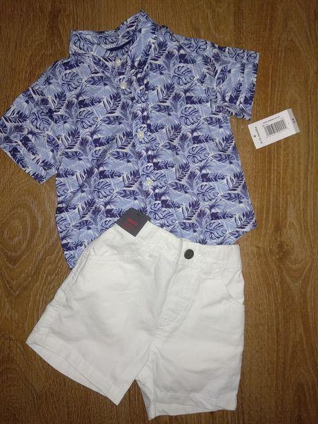 Рубашка H&M Matalan 1 год
