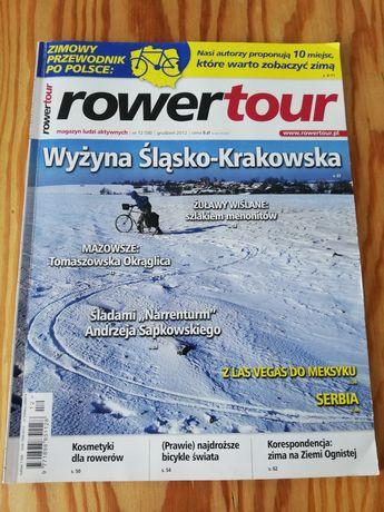Czasopismo rowertour grudzień 2012 numer 58 bdb gazeta turystyczna