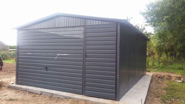 Garaż blaszany 4x6 Blaszak Garaze blaszane Na Raty Producent Tanio