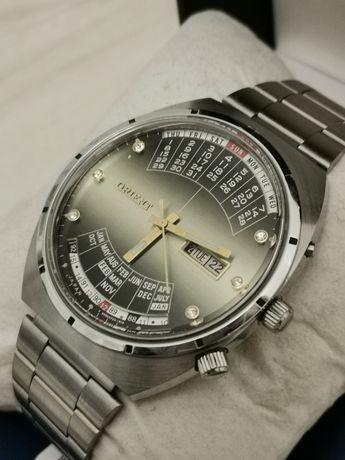 Zegarek Orient Cesarski Królewski Patelnia Multi Year Męski Cyrkonie