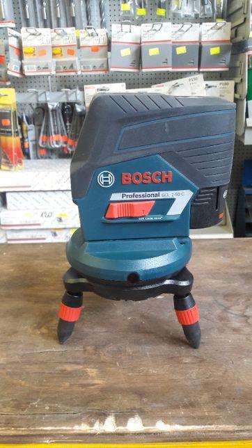 BOSCH GCL 2-50C + RM3 + akumulator 12V 2.0Ah