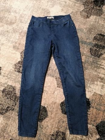 Spodnie jeansy jegginsy rozmiar 36