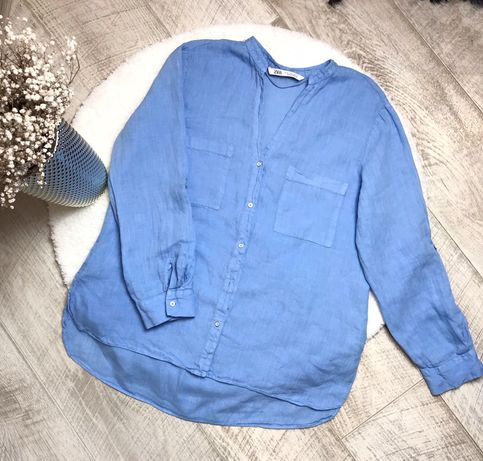 Льняная рубашка Zara