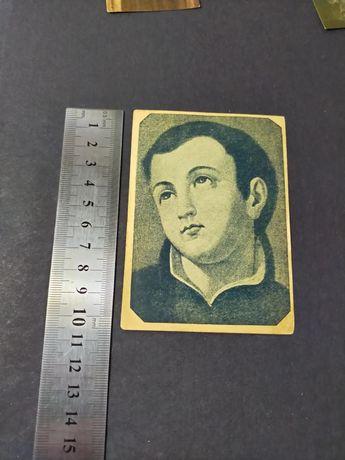 Obrazek ze św. Stanisławem Kosktą 1939 rok. Stan kolekcjonerski