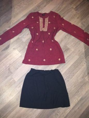 Комплек вышиванка и юбка