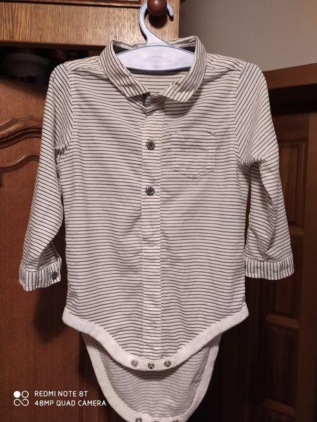 Рубашка-боди (next)на мальчика