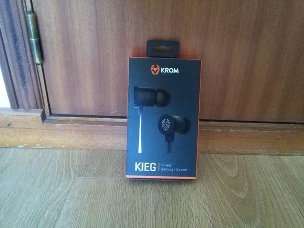 Auriculares Krom Kieg In-Ear Gaming
