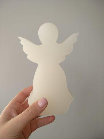 Декоративные свечи: Ангел, Розовая