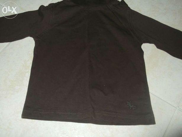 Blusa Castanha dos 12 aos 18 meses (76/82 cm)