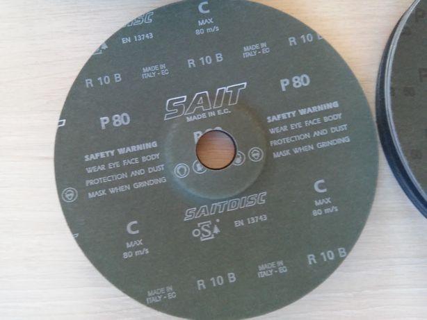 Шліфувальні напівтверді диски на фібровій основі SAITDISC З Ø180х22