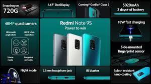 Xiaomi Redmi Note 9S/Note 9 Pro 64/128Gb Grey/Blue/White Global