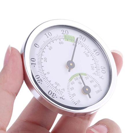 Higrómetro Termómetro 58mm Analógico (humidade e temperatura)