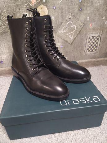 Ботинки кожа Braska