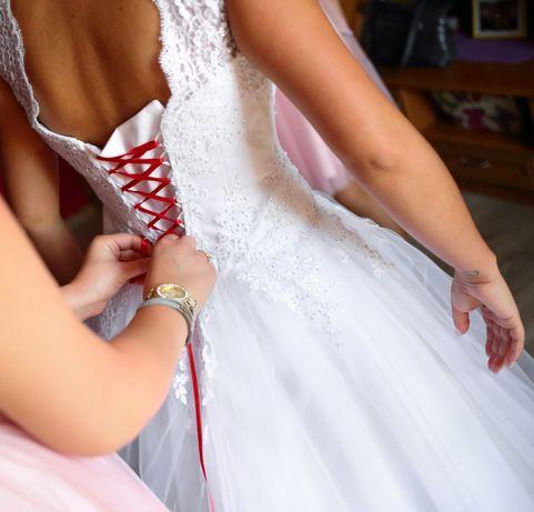 Suknia ślubna + żakiet