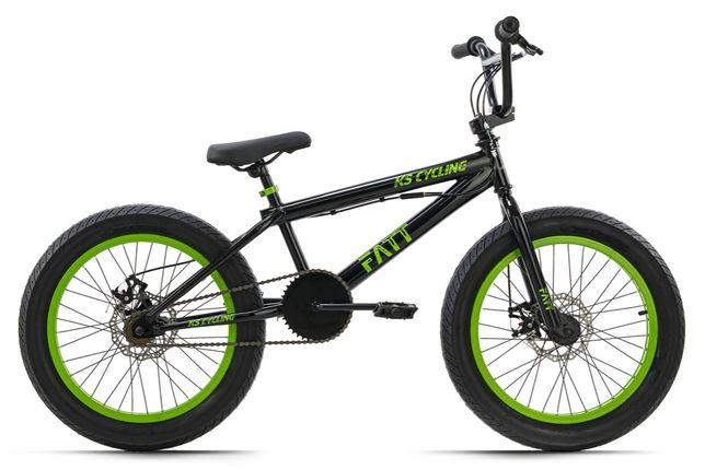 """PREZENT NA KOMUNIE! BMX Freestyle Rotor 20"""" Fatt Czarno-zielony"""