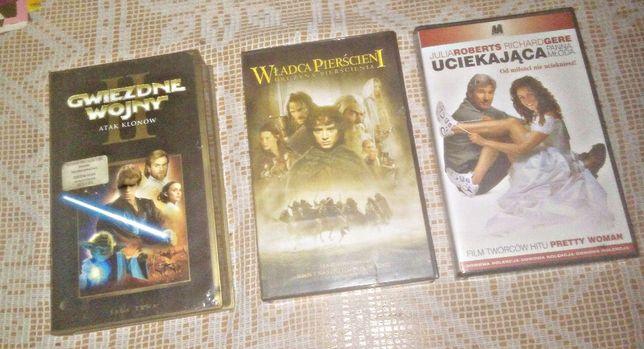 3x kasety VHS kolekcja oldschool