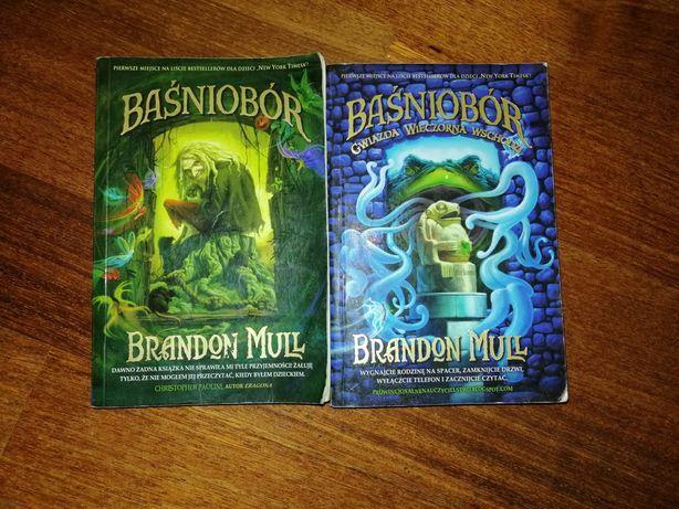 2 części książki baśniobór 1 i 2 część nowe