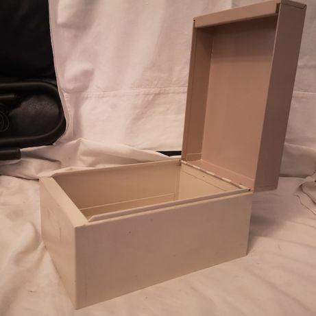 Caixa de Arquivo em metal - prenda útil
