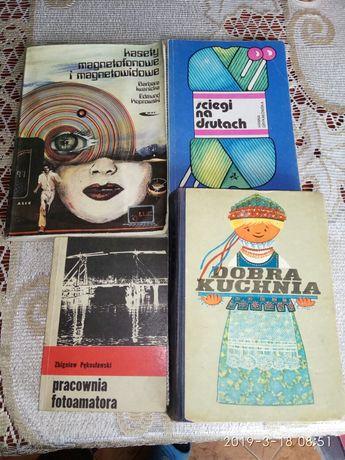 Książki z lat 80tych