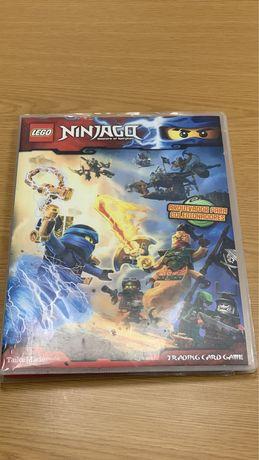 Caderneta de cromos Lego Ninjago