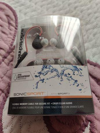 Słuchawki sportowe Audiotechnica Ath-sport 3